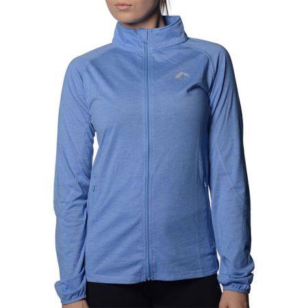 Дамски Суичър MORE MILE Marl Full Zip Long Sleeve Ladies Running Top 508663 MM2126