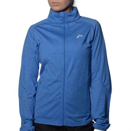 Дамски Суичър MORE MILE Marl Full Zip Long Sleeve Ladies Running Top 508664 MM2127
