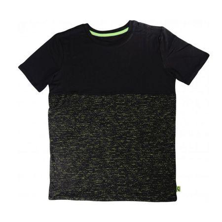 Детска Тениска MORE MILE Boys Short Sleeve Running Top - Black 512966 MM3005