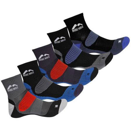 Комплект Дамски Чорапи MORE MILE Cheviot Trail Running Socks - 5 Pack