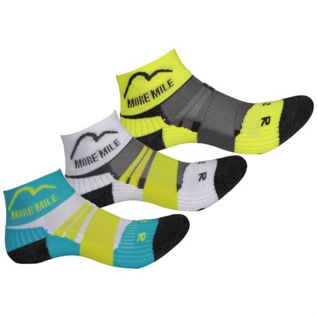 Комплект Детски Чорапи MORE MILE Endurance Running Junior Socks - 3 Pack 509617 MM2684