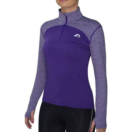 Дамска Блуза MORE MILE Heather Half Zip Ladies Running Top 508666 MM1974