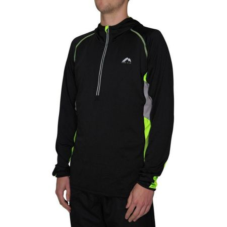 Мъжка Блуза MORE MILE More-Tech Half-Zip Mens Running Hoody 508348  MM1913