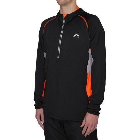 Мъжка Блуза MORE MILE More-Tech Half-Zip Mens Running Hoody 508347  MM1914