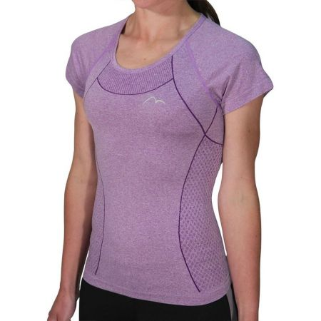 Дамска Тениска MORE MILE Seamless Lite Short Sleeve Ladies Running Top 508571 MM2487