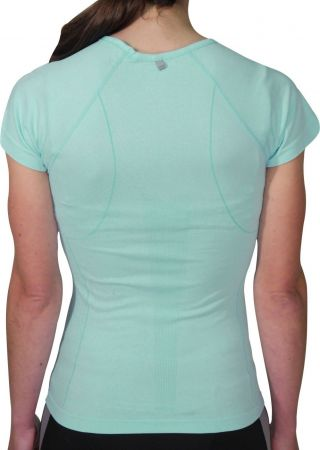 Дамска Тениска MORE MILE Seamless Lite Short Sleeve Ladies Running Top 508570 MM2489 изображение 2