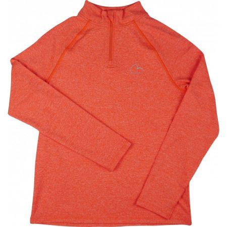 Детска Блуза MORE MILE Girls Long Sleeve Half Zip Running Top