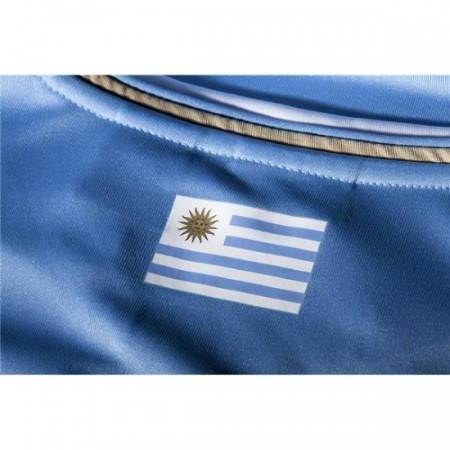 Официална Фланелка Уругвай URUGUAY 2014 World Cup Home Kit 501047  изображение 3