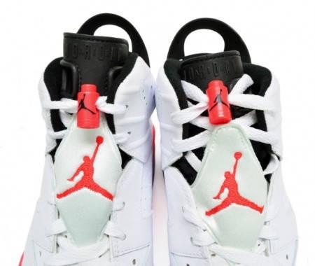 Мъжки Кецове NIKE Air Jordan Retro 6 100860 384664-123 изображение 6