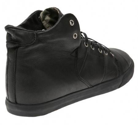 Мъжки Обувки GLOBE Los Angered W13 100654 30302400295 - BLACK BLACK изображение 4