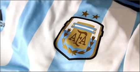 Официална Фланелка Аржентина ARGENTINA 2014 World Cup Home Kit 500977  изображение 5