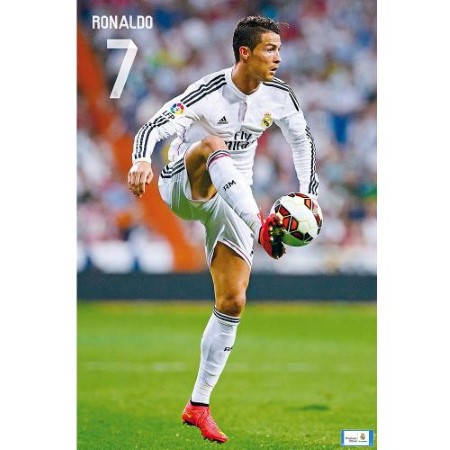 Плакат REAL MADRID Poster Ronaldo 30 500742a
