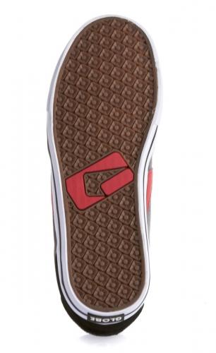 Мъжки Обувки GLOBE Encore 2 S13 100633b 30302400281 - BLACK/CHARCOAL/RED изображение 4