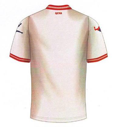Официална Фланелка ЦСКА CSKA Away Shirt 2014-2015 501189a  изображение 3