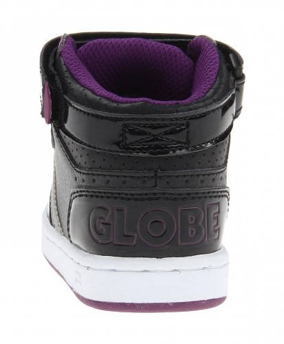 Детски Кецове GLOBE Superfly-Kids Velcro W13 300255 30302400303 - BLACK DARK PURPLE изображение 4