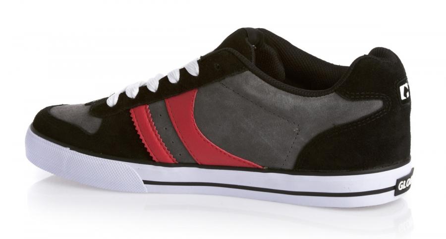 Мъжки Обувки GLOBE Encore 2 S13 100633b 30302400281 - BLACK/CHARCOAL/RED изображение 2