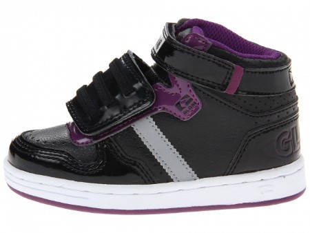 Детски Кецове GLOBE Superfly-Kids Velcro W13 300255 30302400303 - BLACK DARK PURPLE изображение 2
