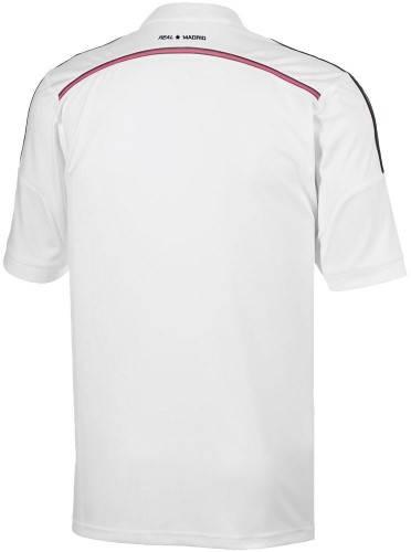 Официална Фланелка Реал Мадрид REAL MADRID Mens Home Shirt 14-15 501071  изображение 2