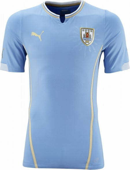 Официална Фланелка Уругвай URUGUAY 2014 World Cup Home Kit 501047
