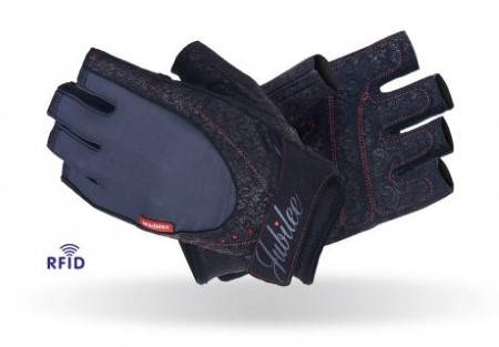 Дамски Ръкавици За Фитнес MAD MAX Women Fitness Gloves Swarovski Jubilee 402001 MFG-740