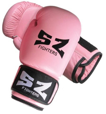Боксови Ръкавици SZ FIGHTERS Leather Boxing Gloves 401613c