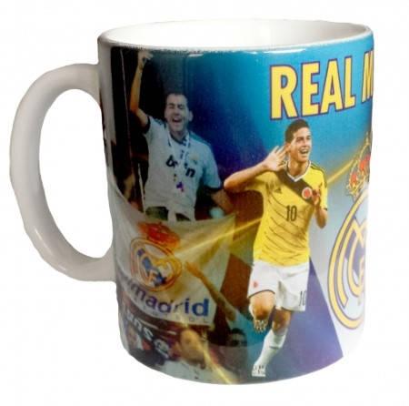 Чаша REAL MADRID Mug Ronaldo and James PKS 501371  изображение 3