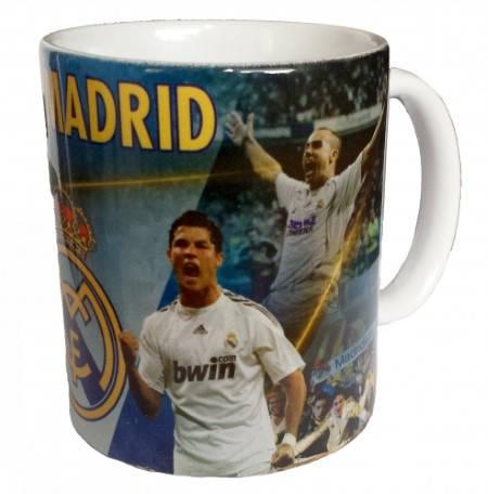 Чаша REAL MADRID Mug Ronaldo and James PKS 501371  изображение 5