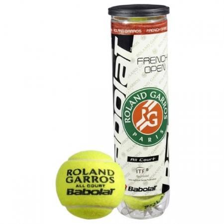 Тенис Топки BABOLAT French Open Roland Garros All Court x4 401363 502036