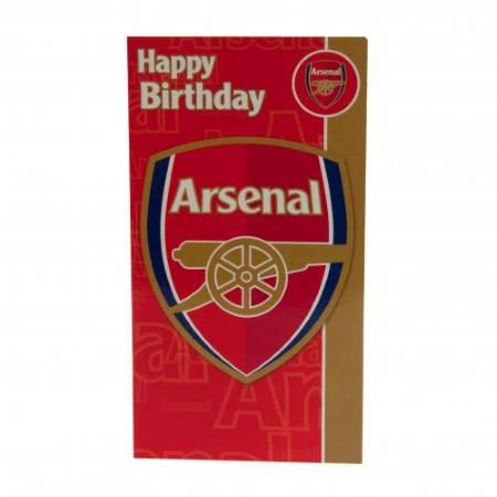 Картичка ARSENAL Birthday Card 500728a w10carar-z01carar изображение 3