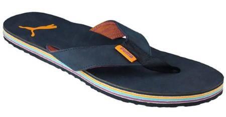 Детски Джапанки PUMA Layered Flip Leather 300312