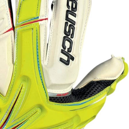 Вратарски Ръкавици REUSCH Keon Deluxe G1 401110 KEON DELUXE G1 LIME GREEN/WH/3170905-501 изображение 3