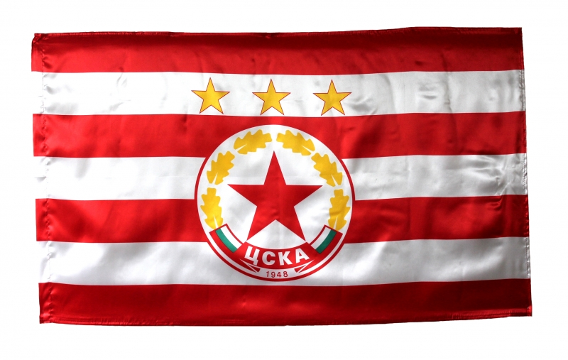 Знаме CSKA Big Flag 90x150 500584a