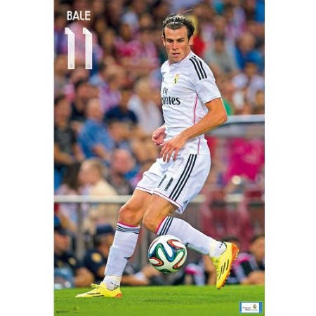 Плакат REAL MADRID Poster Bale 500972