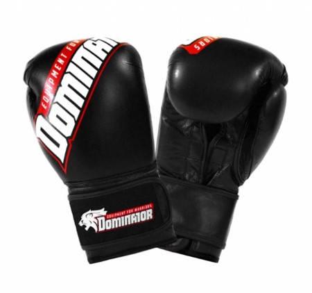Боксови Ръкавици DOMINATOR Boxing Gloves Logo Print Leather 401983 15249
