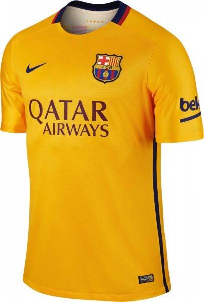 Официална Фланелка Барселона BARCELONA Mens Away Shirt 15-16 501444a