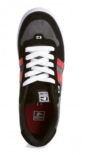 Мъжки Обувки GLOBE Encore 2 S13 100633b 30302400281 - BLACK/CHARCOAL/RED изображение 3
