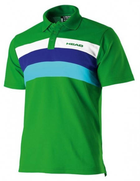 Мъжка Тениска HEAD Phase Poloshirt Button T-Shirt SS13 100842 811153-GEWH