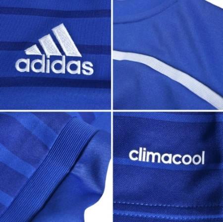 Официална Фланелка Челси CHELSEA Mens Home Shirt 14-15 501069  изображение 5