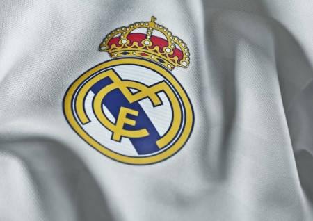 Официална Фланелка Реал Мадрид REAL MADRID Mens Home Shirt 14-15 501071  изображение 3
