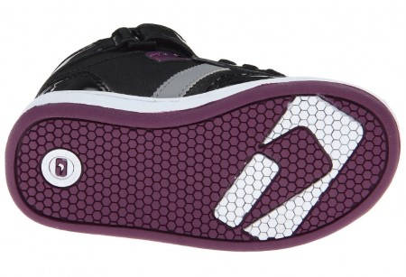 Детски Кецове GLOBE Superfly-Kids Velcro W13 300255 30302400303 - BLACK DARK PURPLE изображение 6