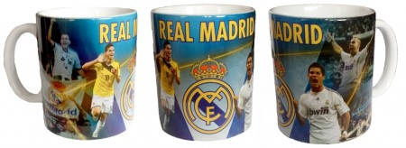 Чаша REAL MADRID Mug Ronaldo and James PKS 501371  изображение 2