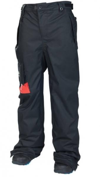 Мъжки Ски/Сноуборд Панталони 686 Mannual Insulated Pant W13 101013 30306900133-Black