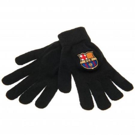 Ръкавици BARCELONA Knitted Gloves BLK 500424a  изображение 2