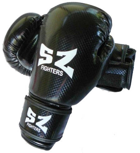 Боксови Ръкавици SZ FIGHTERS Boxing Gloves Carbon 401611