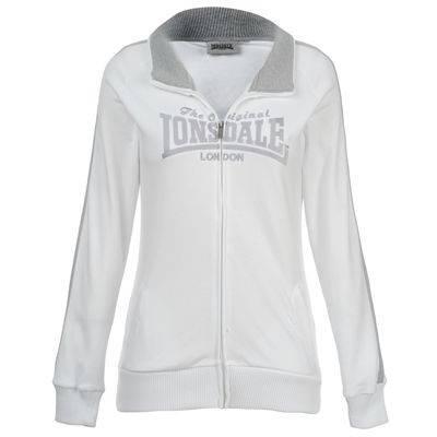 Дамско Горнище LONSDALE 2 Stripe Lock Zip Jacket Ladies 200101 50226