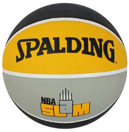 Баскетболна Топка SPALDING 2011 NBA Slam Color Rubber Basket 400957 73-491Z