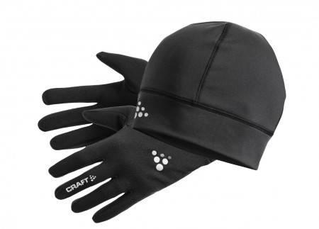 Комплект Шапка/Ръкавици CRAFT Running Winter Gift Pack 400415