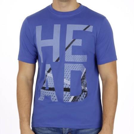 Мъжка Тениска HEAD Dart T-Shirt SS14 100823a DART T-SHIRT/811204 -BCNV изображение 2