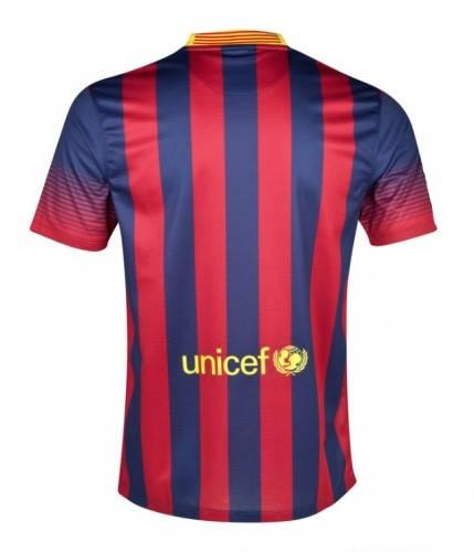 Мъжка Тениска NIKE Barcelona Mens Home Shirt 13/14 100642  изображение 2