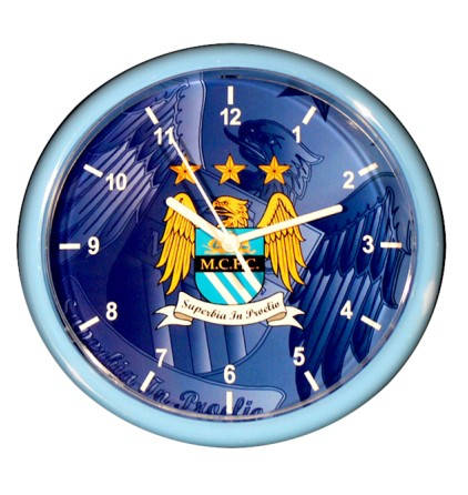 Стенен Часовник MANCHESTER CITY Wall Clock 500062